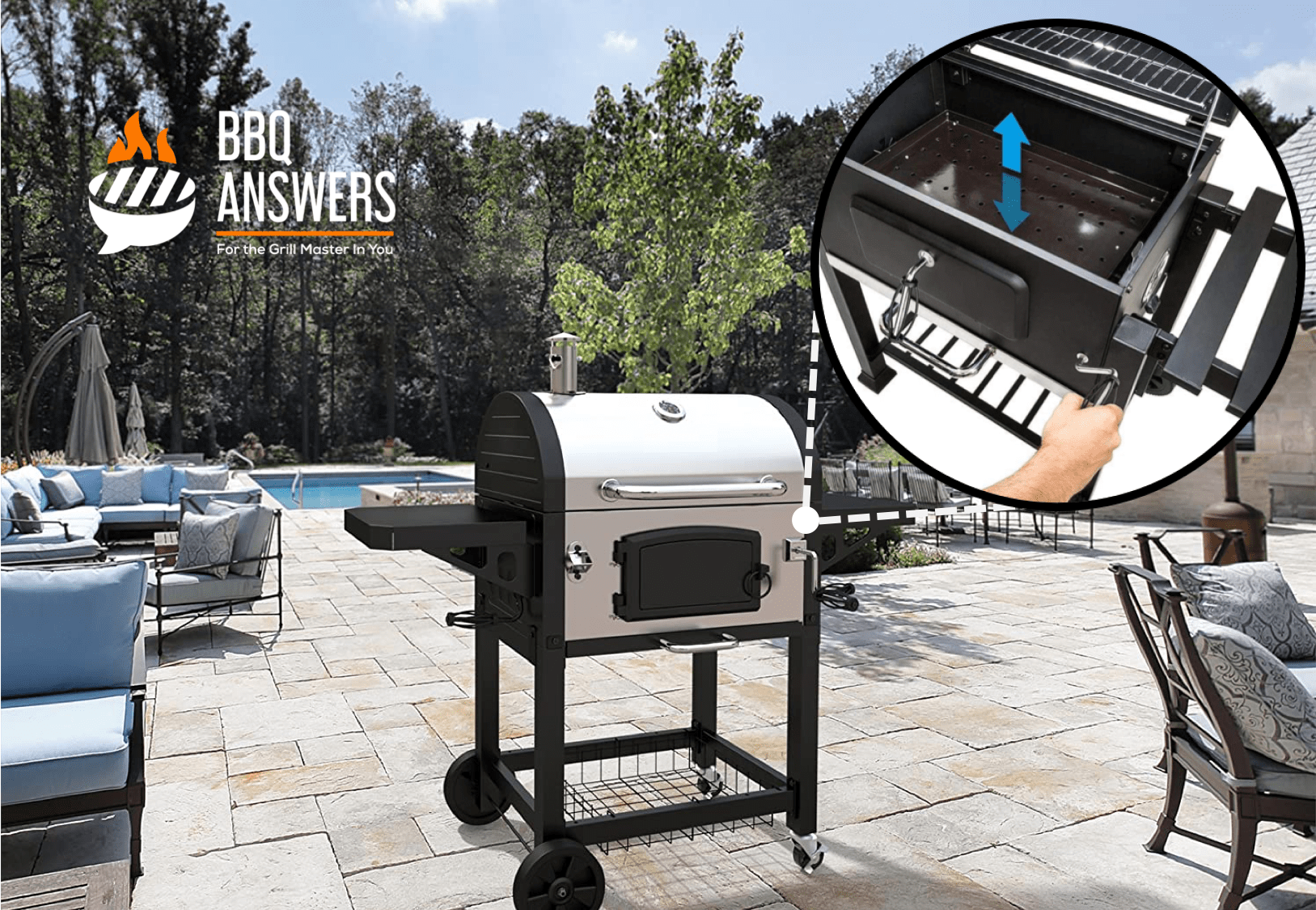 Adjustable Charcoal Tray | Charcoal Grills | BBQanswers