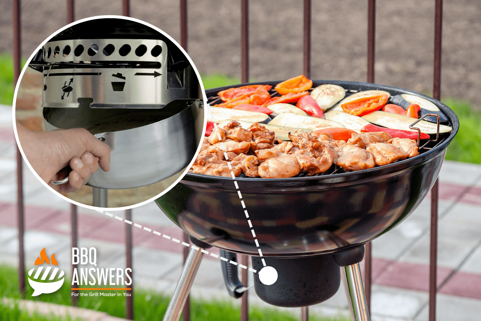 Residual Ash Removal | Charcoal Grills | BBQanswers