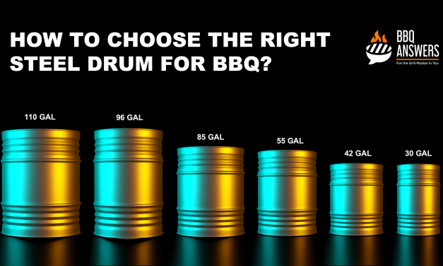 How to Choose the Right Steel Drum For BBQ?