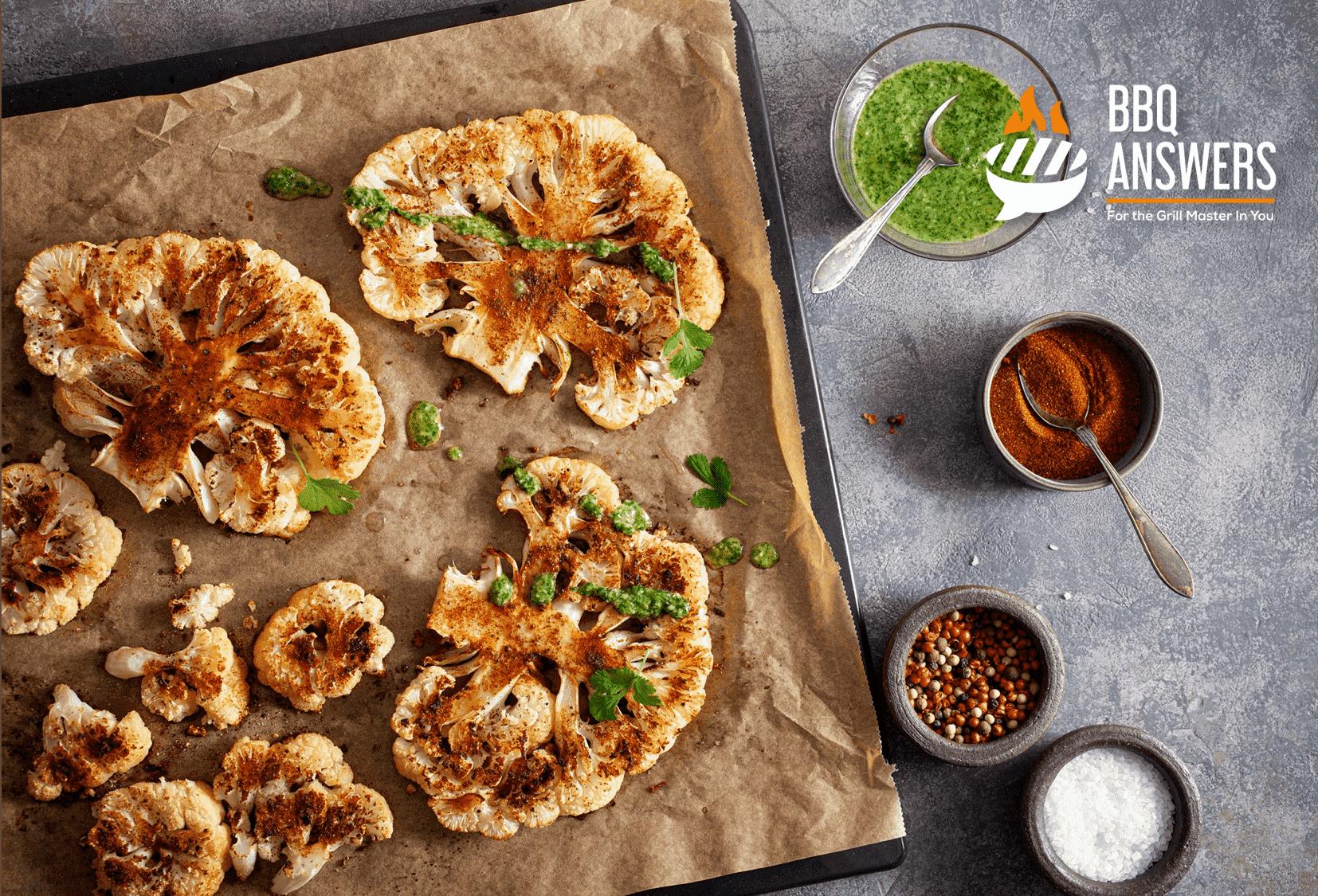 Vegan Cauliflower Chips | Vegan BBQ Sides | BBQanswers