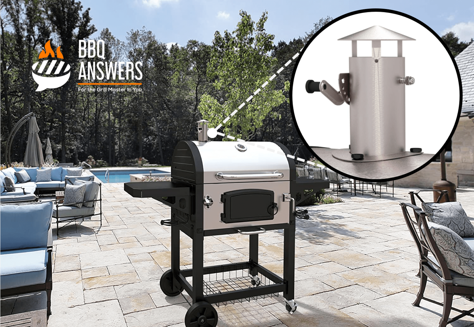 Adjustable Vents/ Dampers | Charcoal Grills | BBQanswers