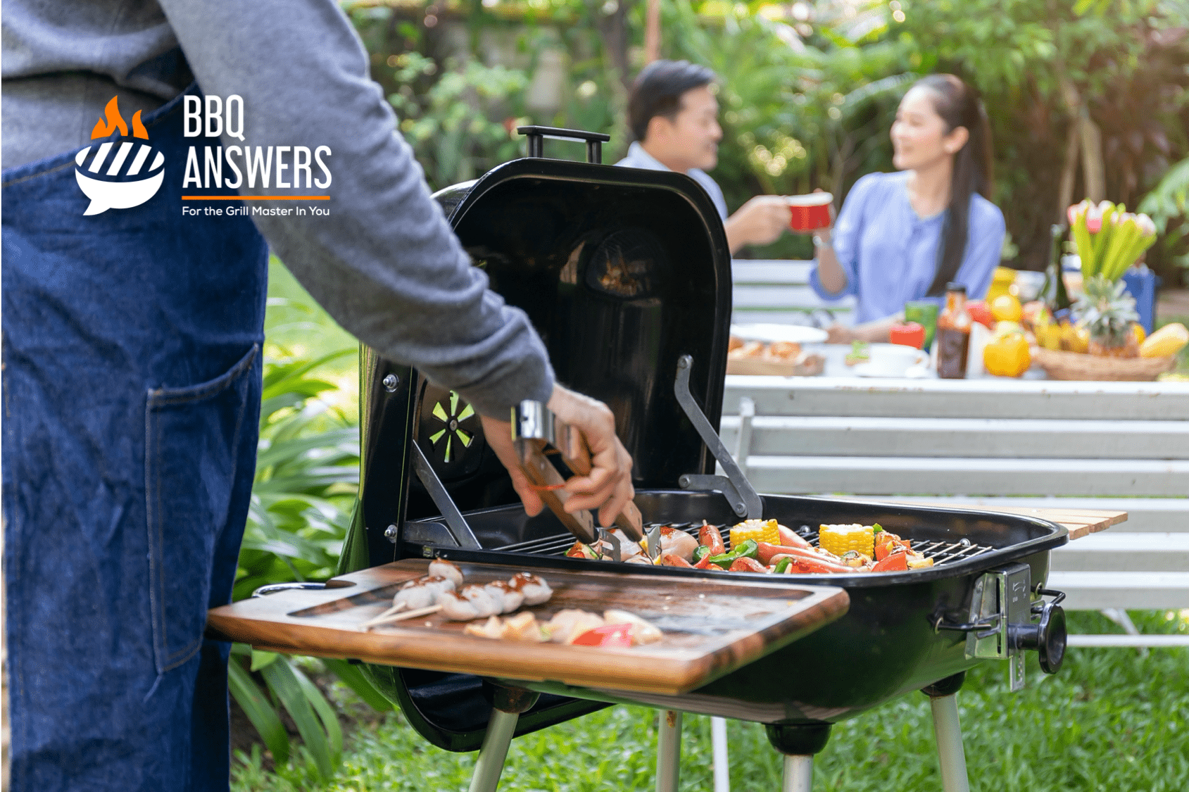 Dockable Grill Lid | Charcoal Grill | BBQanswers
