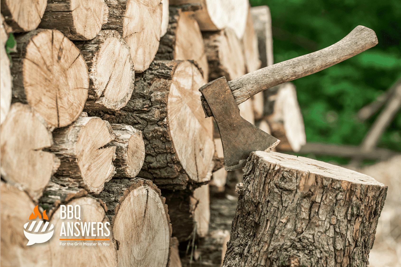 Fresh Cut Hardwood | Wood Logs | BBQanswers