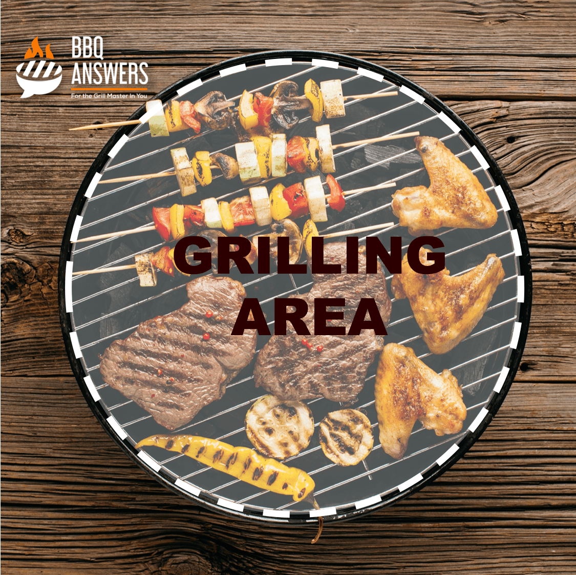 Grilling Area | Charcoal Grill | BBQanswers