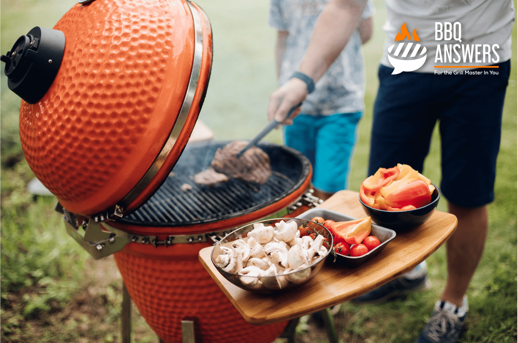 Kamado Charcoal Grill   Guide to Grill Types   BBQanswers