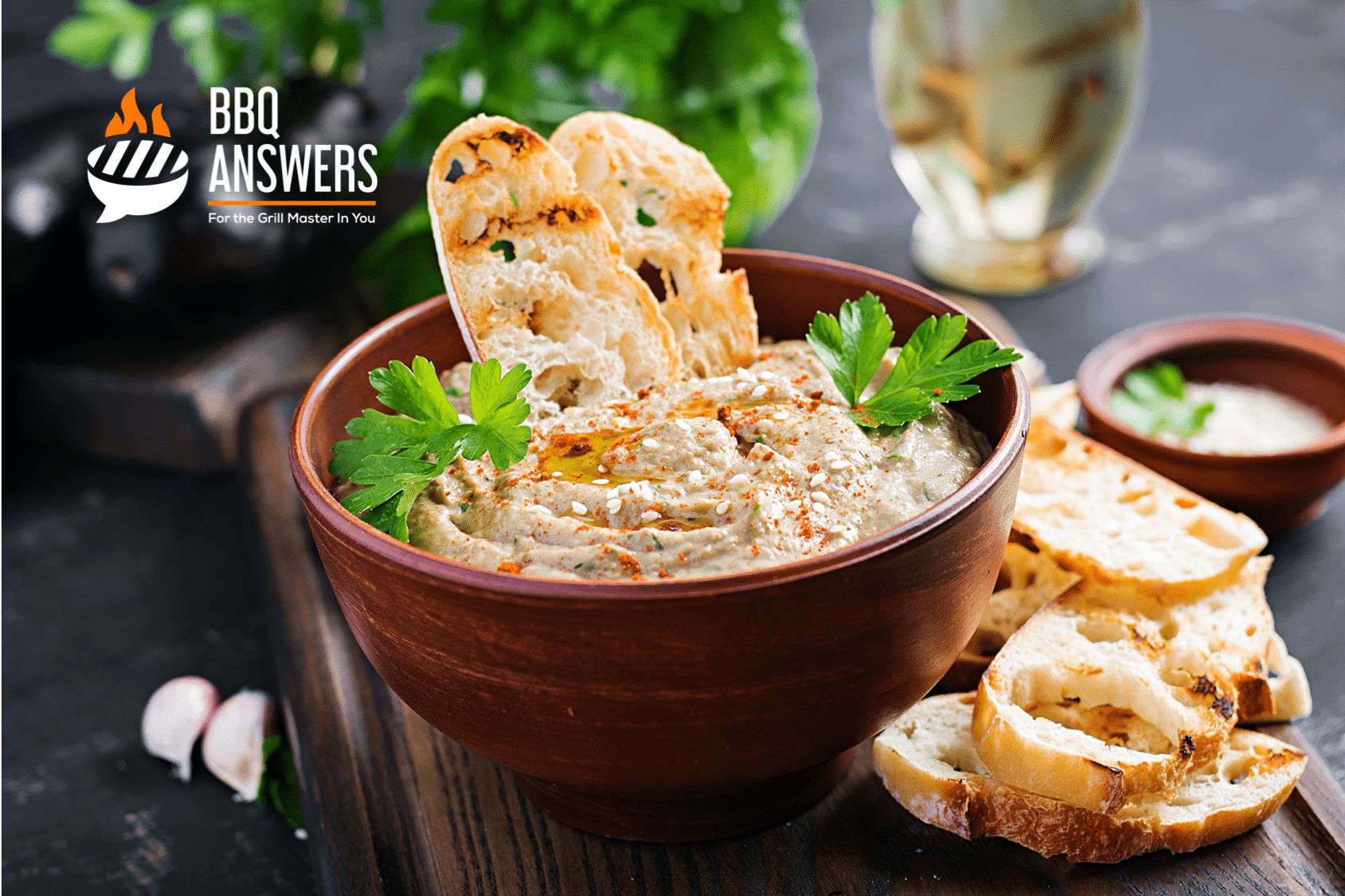 Baba Ganoush or African Chips and Dip | Vegan Dips and Dressings | BBQanswers
