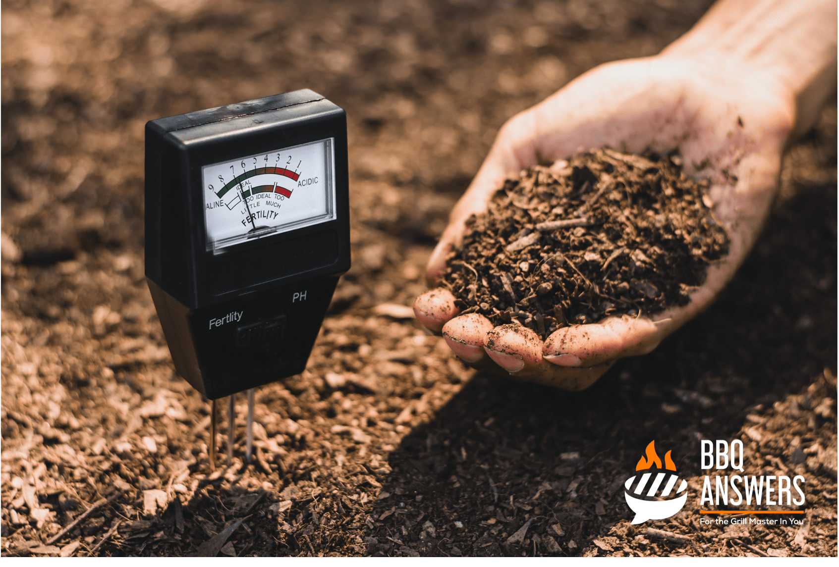 Soil meter | Benefits of Adding Ash to Soil | Using BBQ Ash for Plants | BBQanswers
