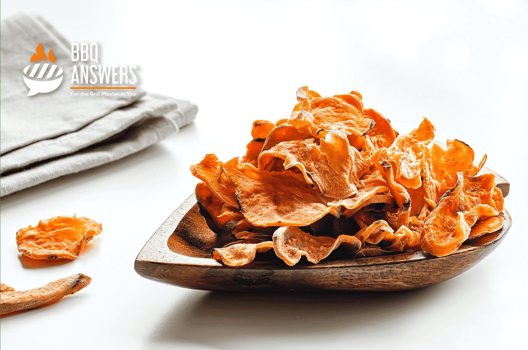 Sweet Potato Chips | Vegan BBQ Sides | BBQanswers