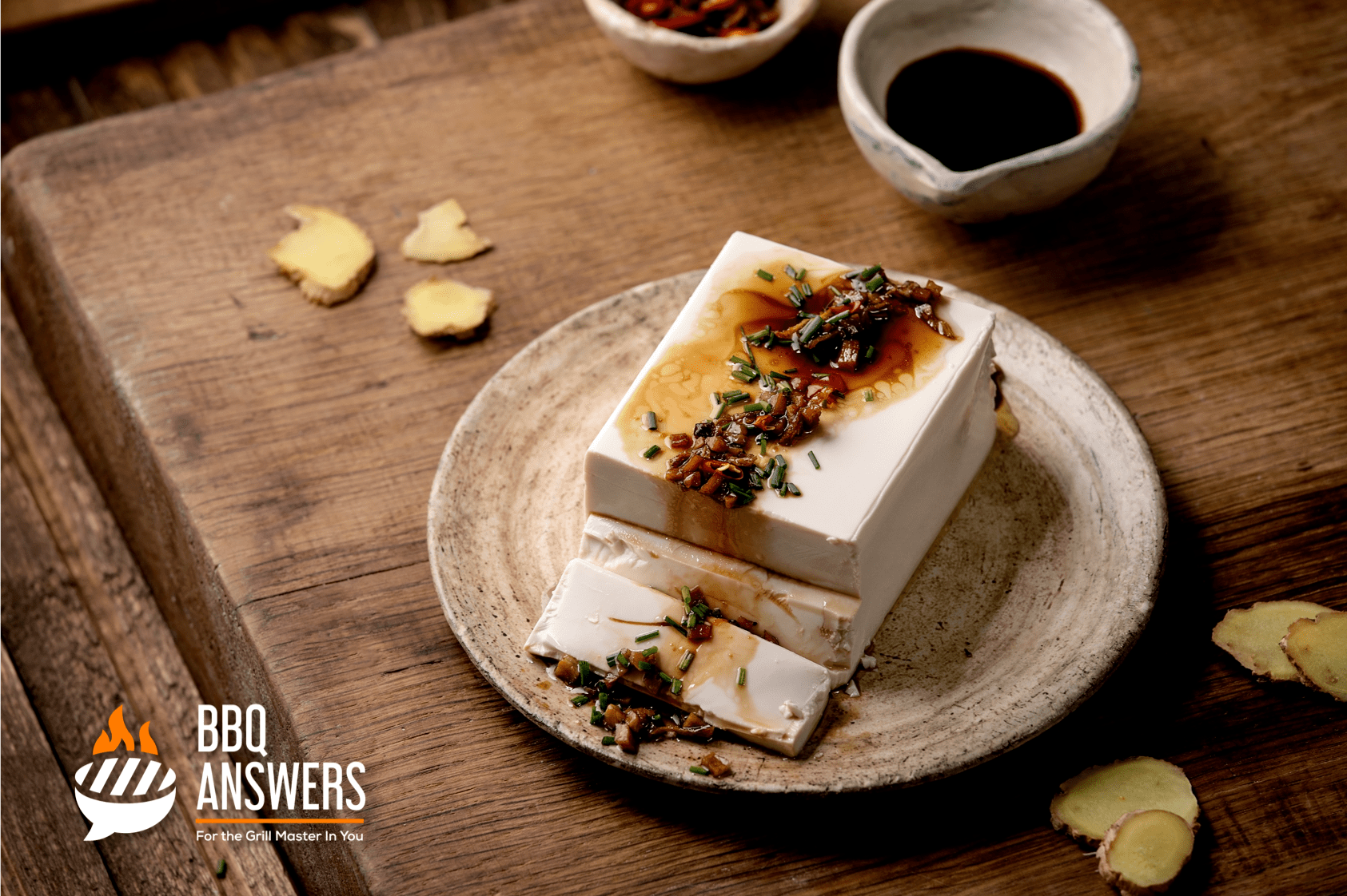 Vegan Cheese from Fermented Tofu | BBQanswers