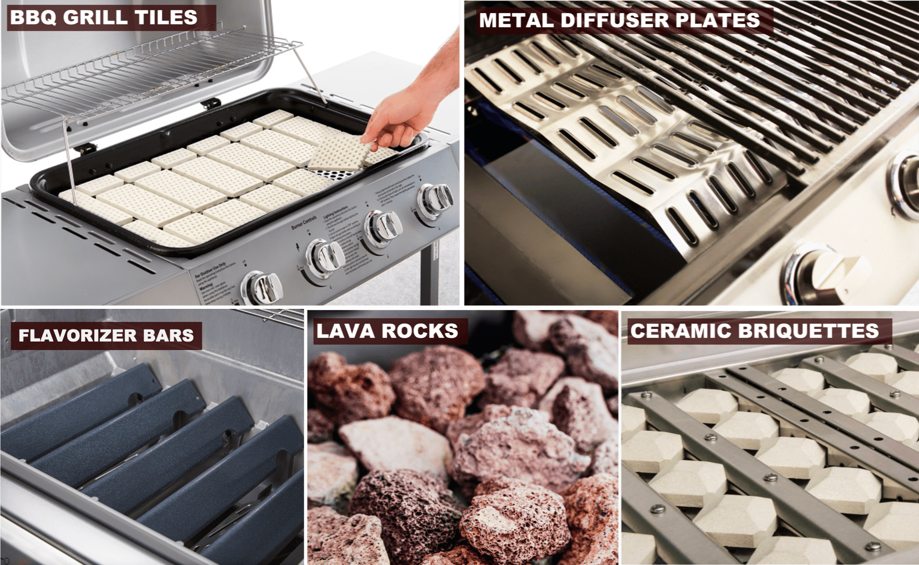 Types of BBQ Heat Diffuser   BBQanswers