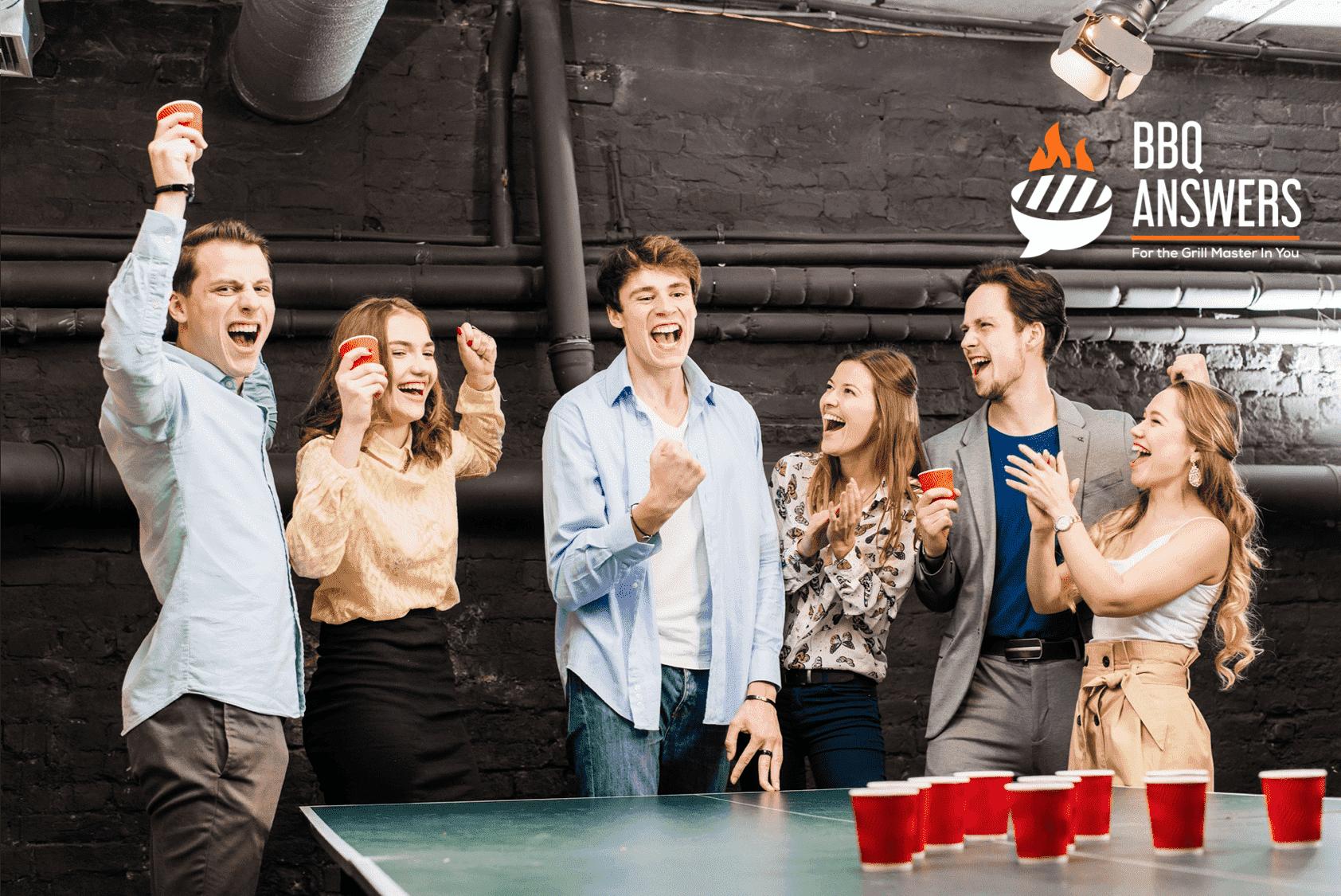 Beer Pong | Games at Tailgating Parties | BBQanswers