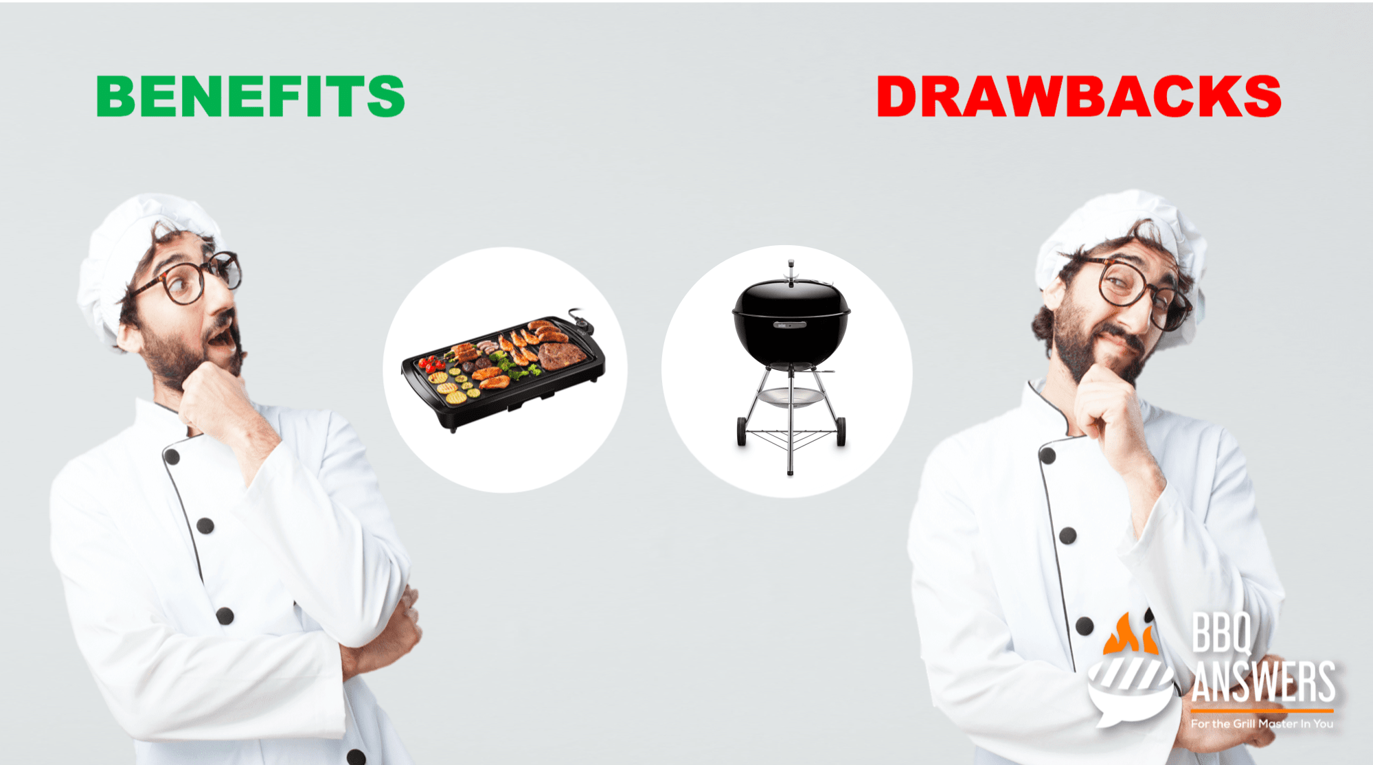 Benefits and Drawbacks of Electric and Charcoal Grill   BBQanswers