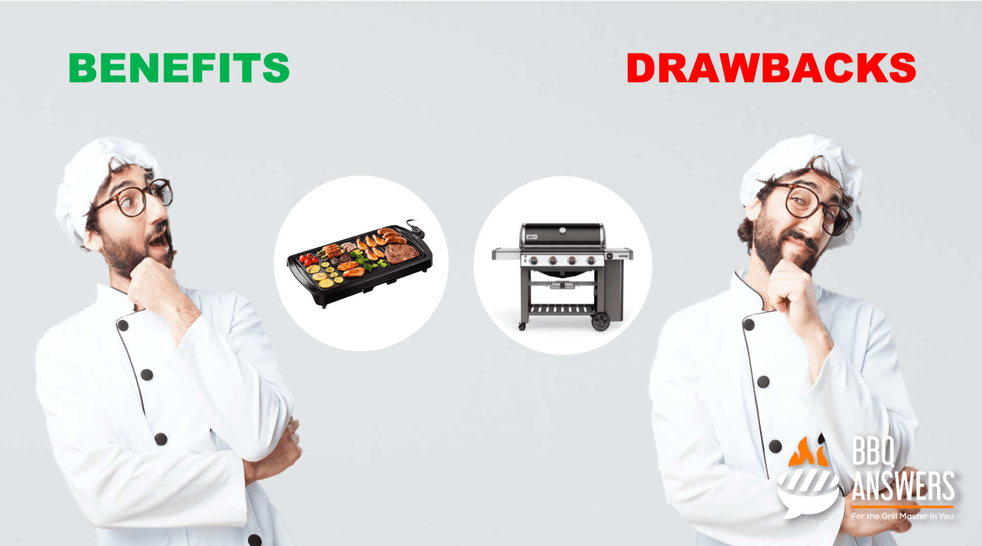 Benefits and Drawbacks of Electric grill and Gas Grill   BBQanswers