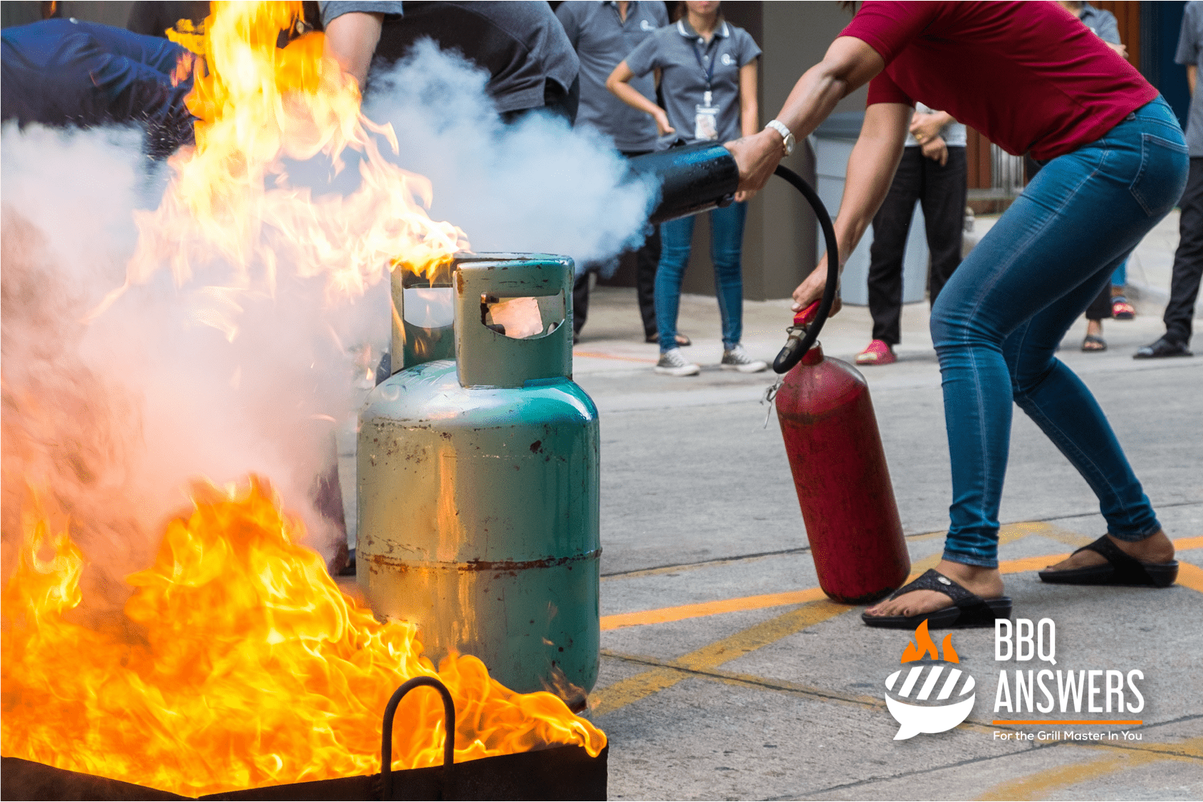 BBQ Gas Bottle Safety | BBQanswers