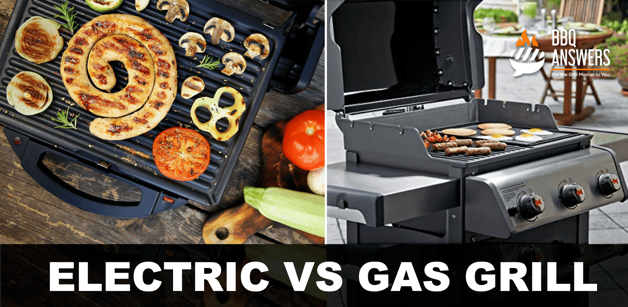 Electric VS Gas Grill   BBQanswers