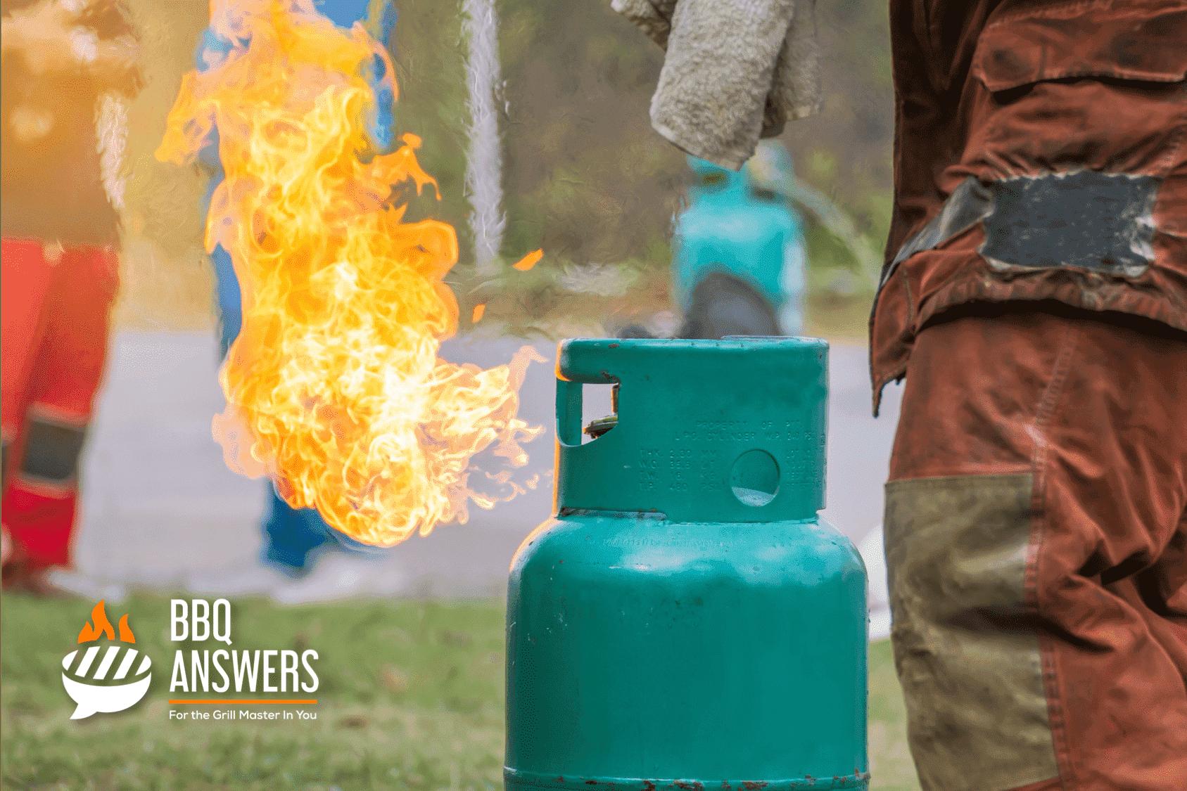 Gas Bottle Explosion | BBQanswers