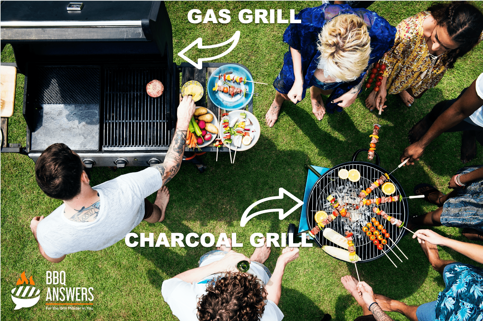 Charcoal vs. Gas Grills – The Great Debate