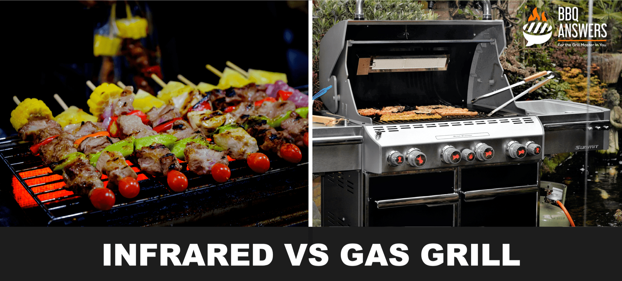 Infrared VS Gas Grill   BBQanswers