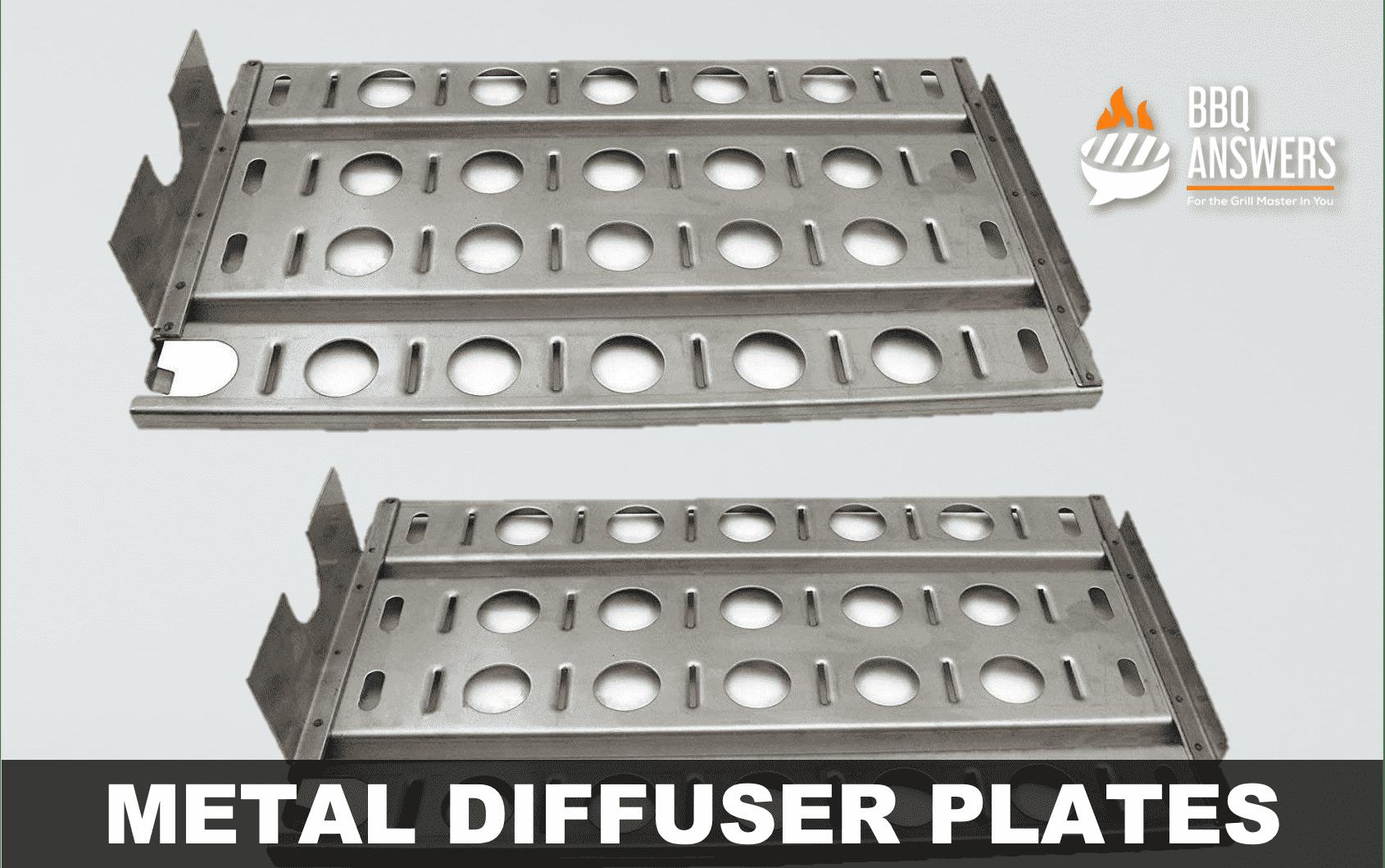 Metal Diffuser Plates   Types of BBQ Heat Diffuser   BBQanswers