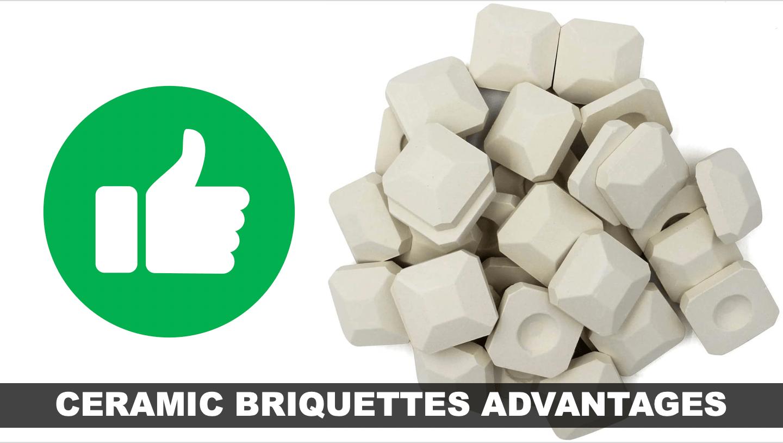 Advantages of Ceramic Briquettes   BBQanswers