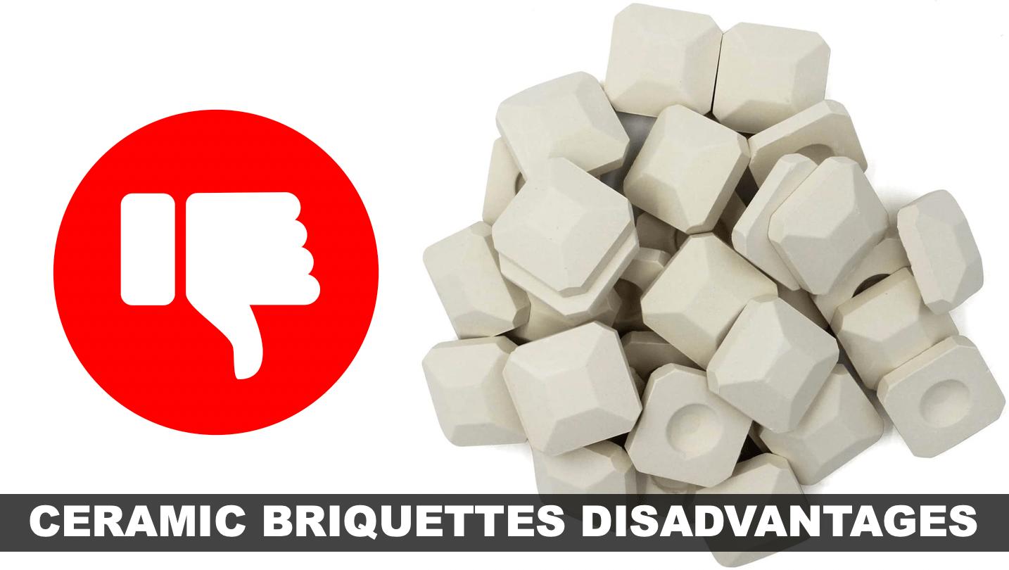 Disadvantages of Ceramic Briquettes   BBQanswers
