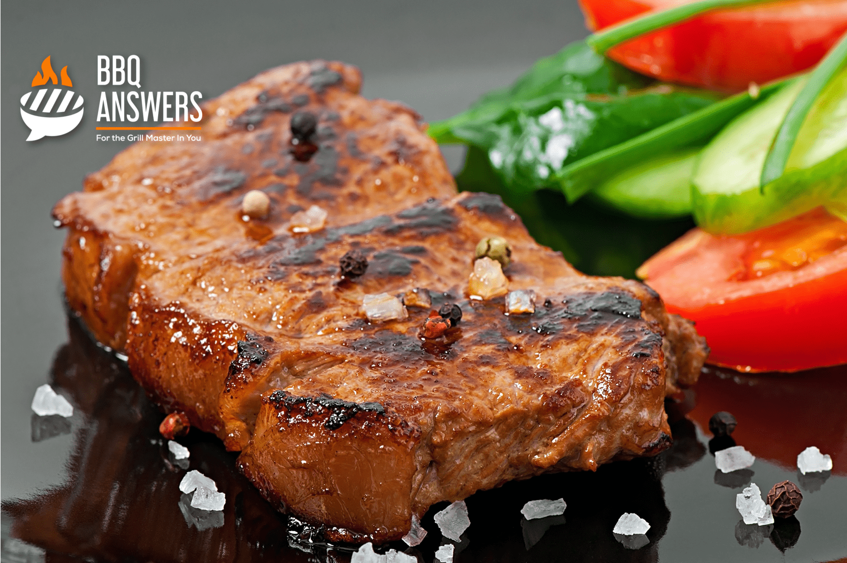Smoky Grilled Pork Chops | Liquid Smoke | BBQanswers