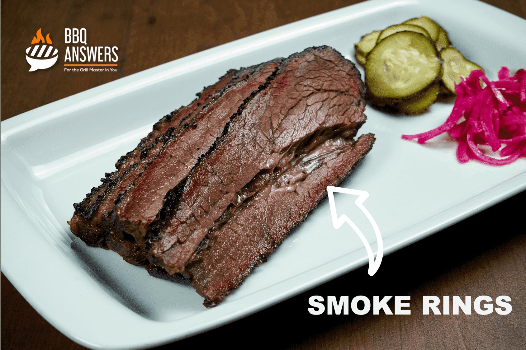 Smoked Brisket with Smoke Rings   BBQanswers