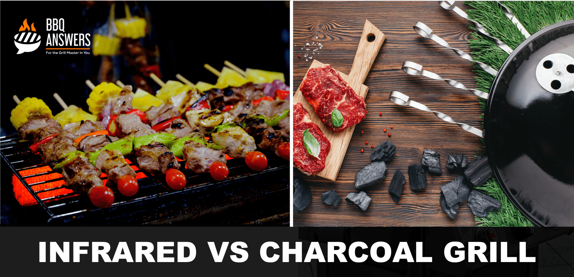 Infrared VS Charcoal Grill | BBQanswers