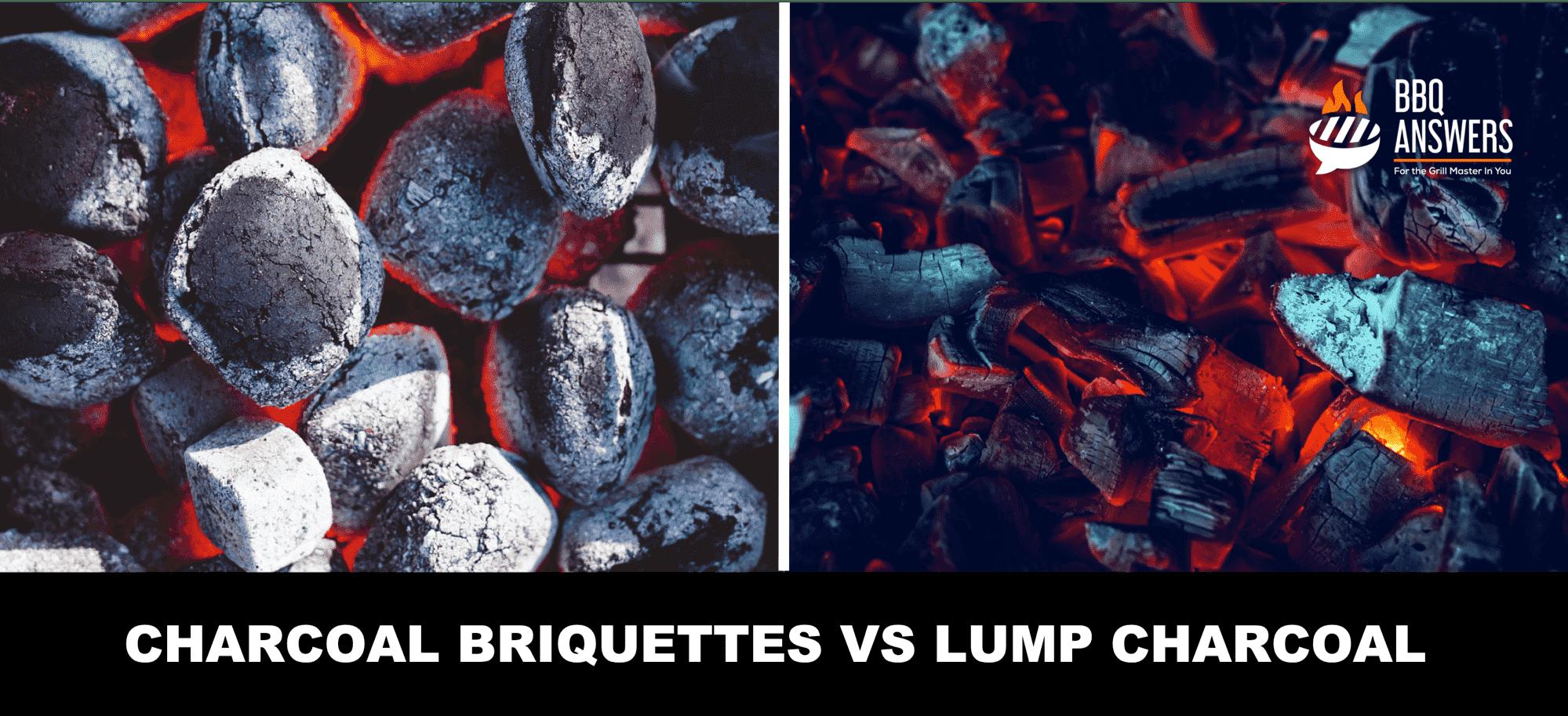 Charcoal Briquettes VS Charcoal Lump | BBQanswers