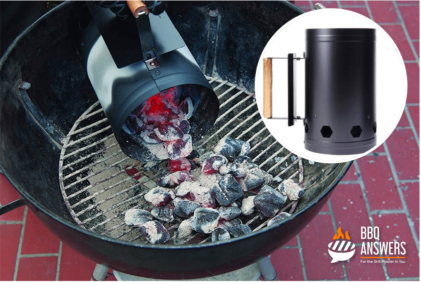 Chimney starters |Handling Fire in Charcoal Grill | BBQanswers