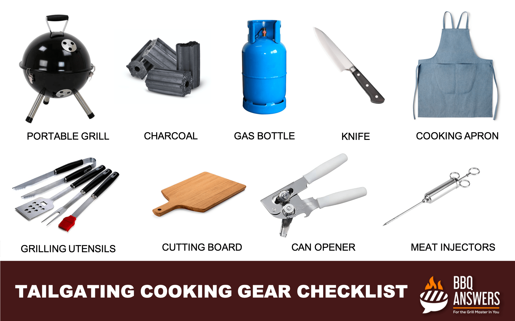 Tailgating Cooking Gear Checklist | BBQanswers